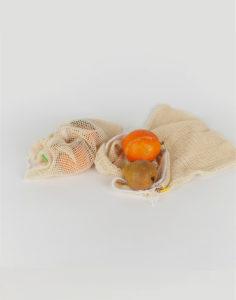 Bolsa de tela reutilizable